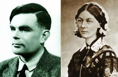 "WHO CHANGED THE WORLD: ""Alan Turing & Florence Nightingale"""