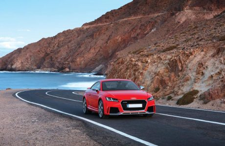 "TOP SPEED:""Audi TT RS"""